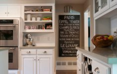 Stunning Parisian Themed Kitchen That Will Make Great Festive Decorations