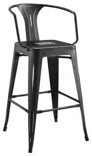 Promenade Bar Stool, Black