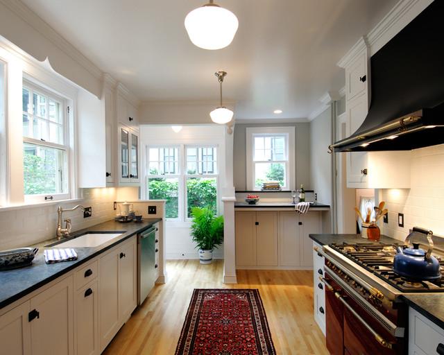 Traditional Galley Kitchen Design Ideas