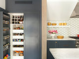 transitional-kitchen 15 Smart Ideas From Beautifully Organized Pantries upholstery in clapham junction