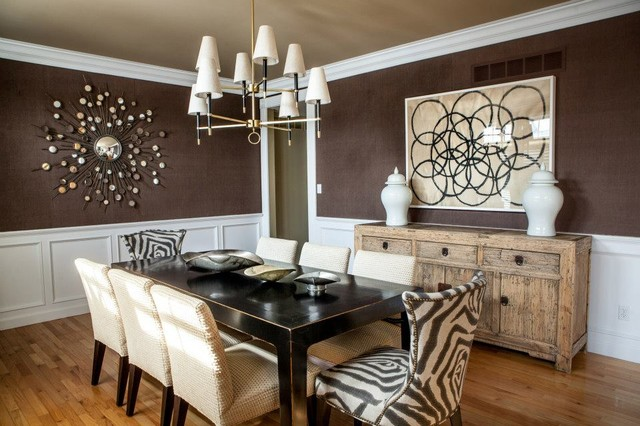 Casually Elegant Dining Room Traditional Dining Room