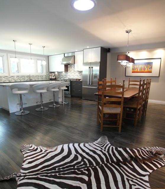 Shiva Interiors Eclectic Kitchen Ottawa By 7j DESIGN
