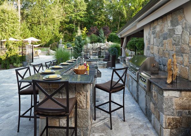 outdoor kitchen countertop materials