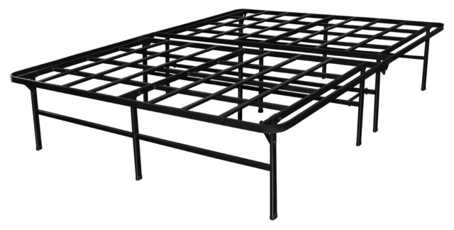 Queen Heavy Duty Metal Platform Bed Frame
