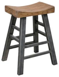 Harper Square Stool, Bar Stool
