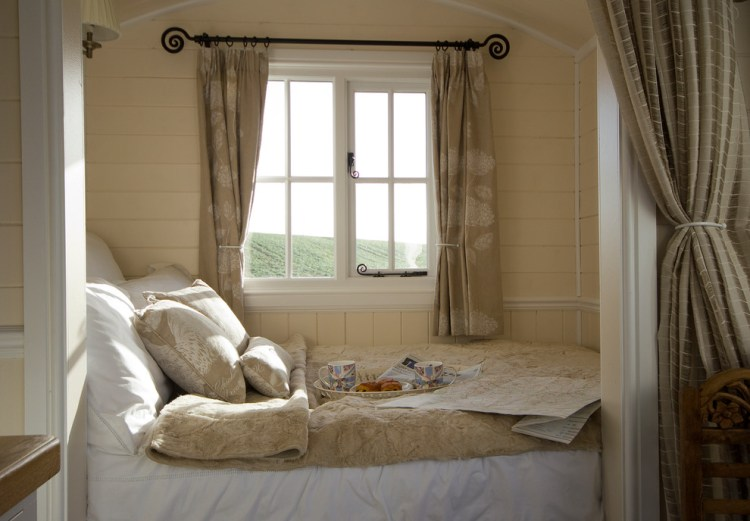 Self Contained Huts Farmhouse Bedroom Other By Riverside Shepherd Huts Ltd
