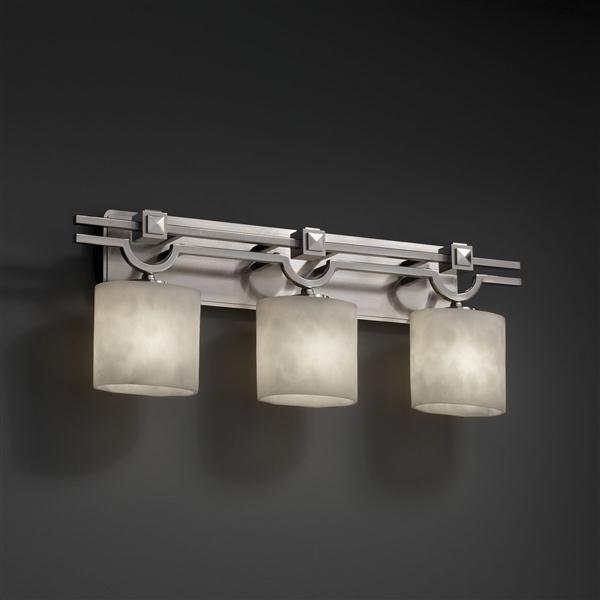 Bronze Tone Calypso Bathroom Light Lighting Fixtures