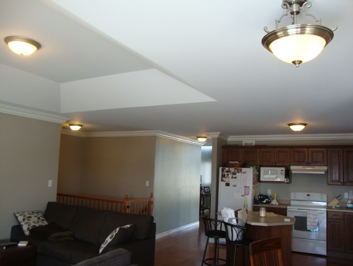 Lighting For Open Concept Kitchendinningliving Area And