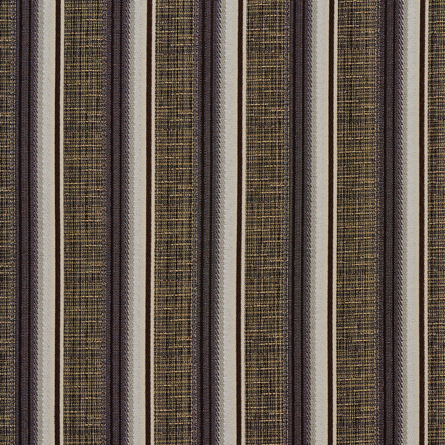Navy Blue Gold Abstract Striped Contract Grade Upholstery Fabric By The Yard Contemporary
