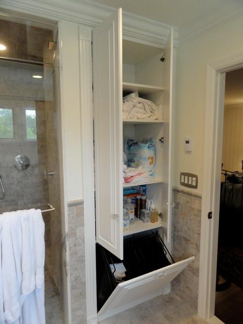 Linen ClosetsBathroom Cabinets Traditional Bathroom