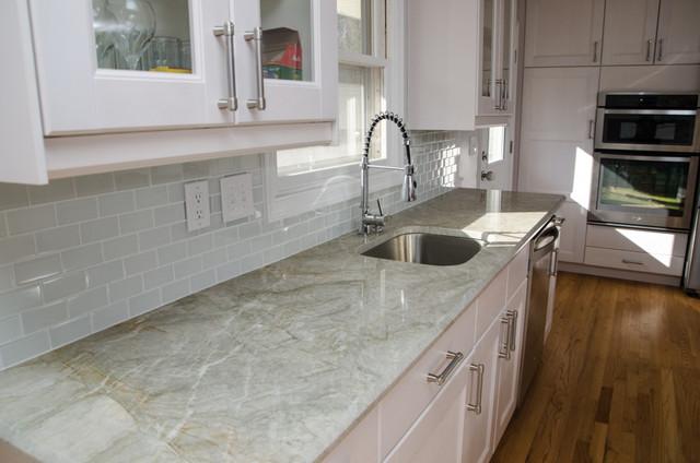 Madre Perola Quartzite Contemporary Kitchen DC Metro By Granite Grannies