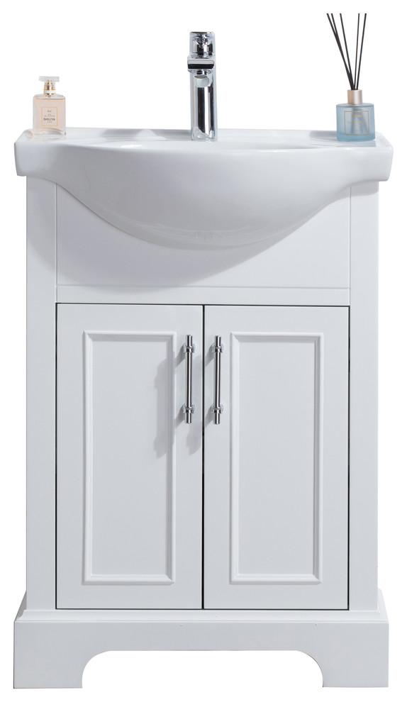soho 24 bathroom vanity white