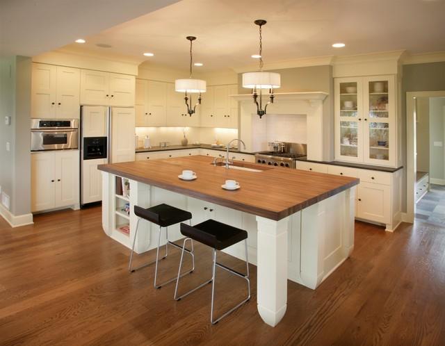 Cape Cod Shingle Style Kitchen