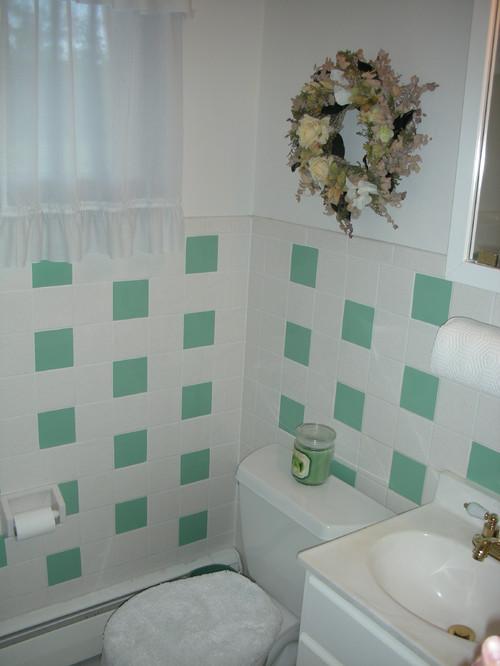 painting bathroom tile vs. replacing..