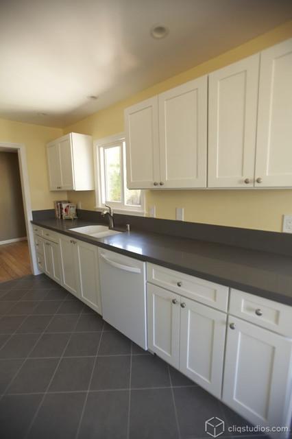 Basic White Kitchen Units