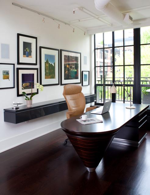 Penthouse Condo Contemporain Bureau Domicile