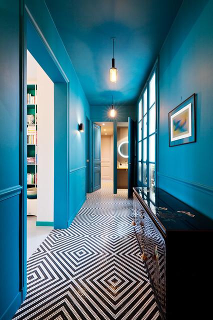 9 idees de peinture pour le couloir