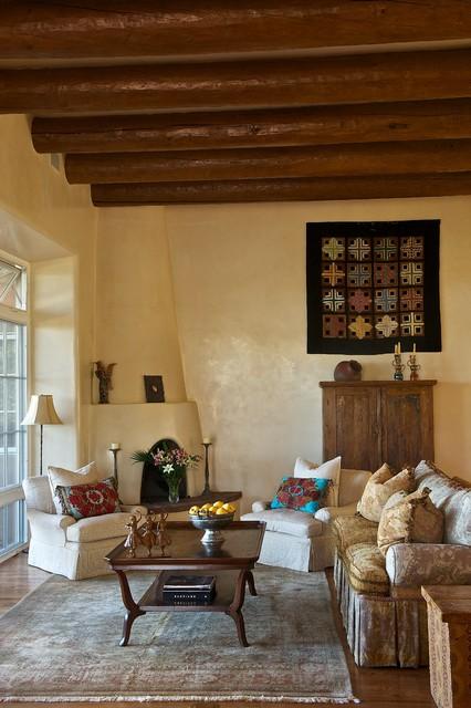 Mediterranean Living Room american-southwest-living-room