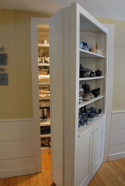 Dining Room Storage Cupboard With A Secret Traditional
