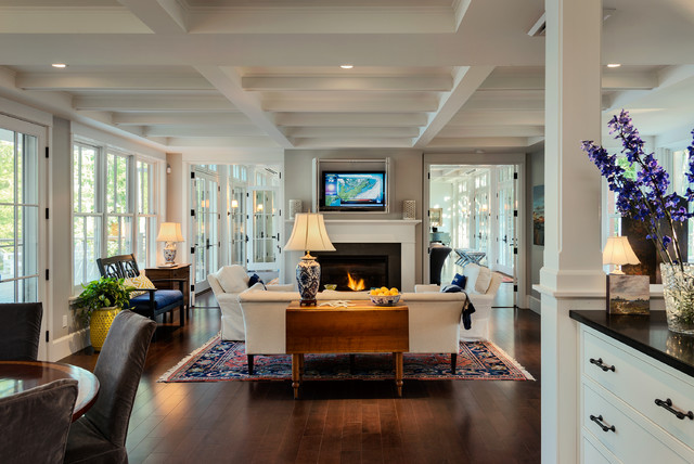 Clic Cottage Beach Style Living Room Other By