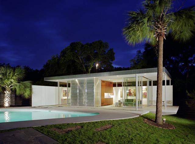 Tarrytown Pavilion Modern Pool Austin By