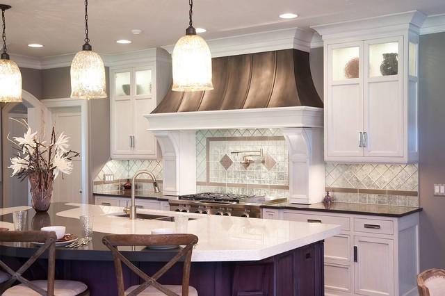 Restoration Hardware Style Home Transitional Kitchen