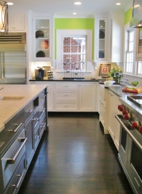 Bright Open Kitchen Traditional Charlotte