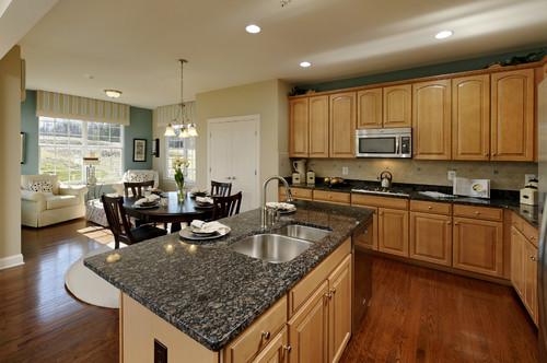 Sapphire Blue Granite Kitchen Countertops