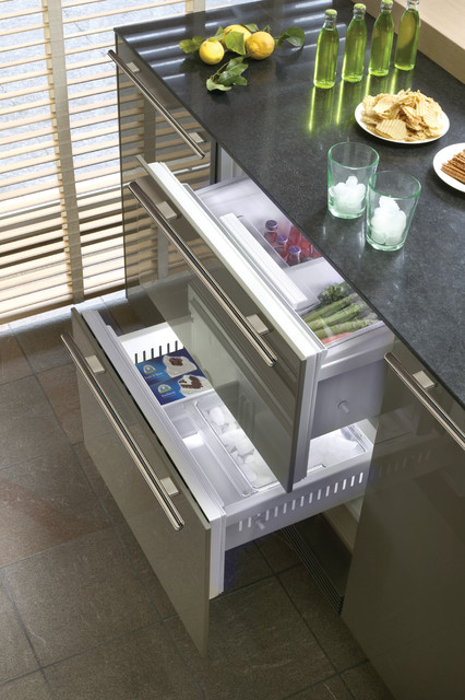 Sub Zero 27 Built In Double Drawer Refrigeratorfreezer Custom Panel 700BCI Los Angeles