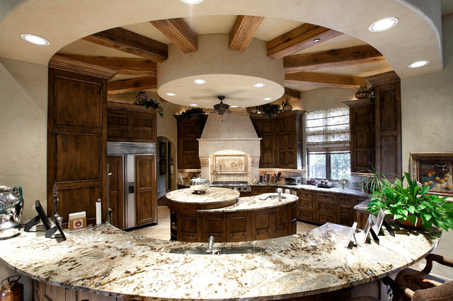 Italian Rennaisance Mediterranean Kitchen Dallas By Holmes Builders
