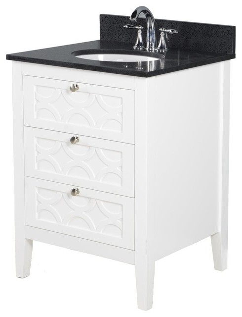 rotterdam 24 white bathroom vanity cabinet sink and countertop choice