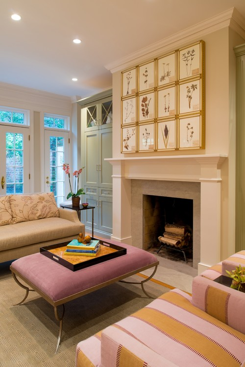 Fireplace Decorating Ideas View
