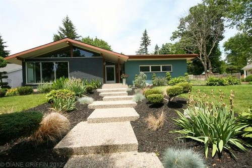 Choosing Paint Color For Exterior Of Mid-century Modern Home