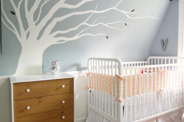 Violet's Nursery contemporary-nursery