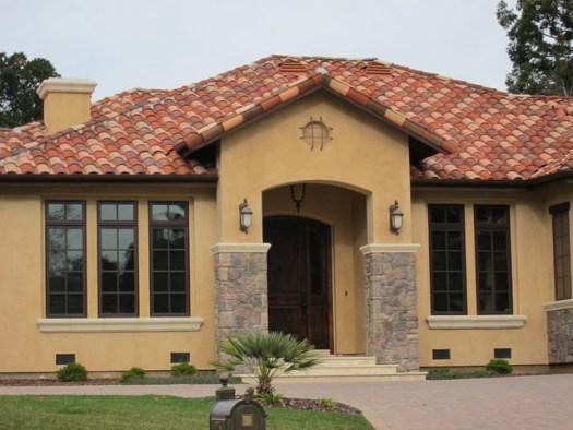 Spanish Style Houses Mediterranean Entry