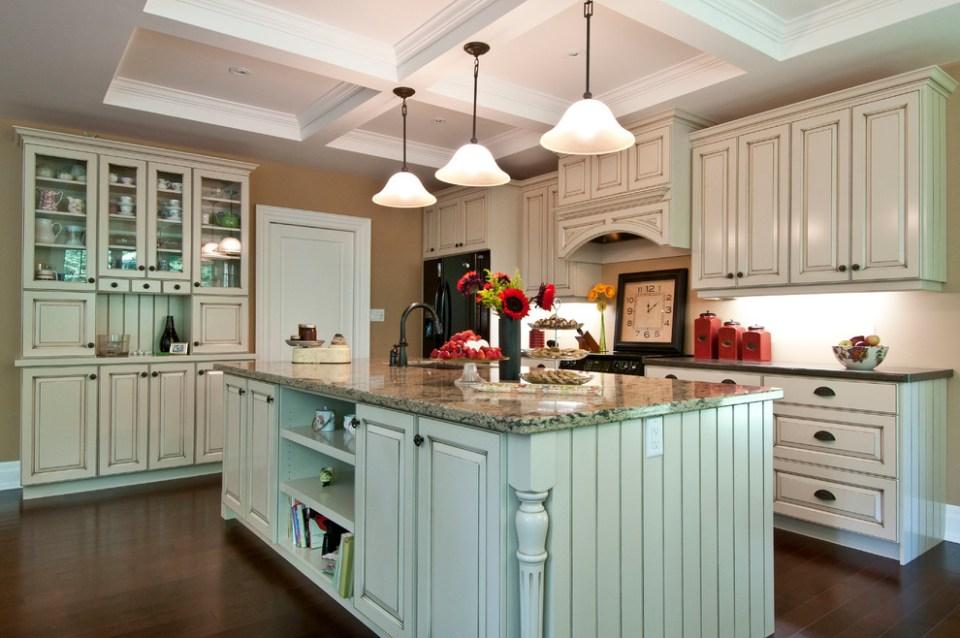 contemporary craftsman custom home - craftsman - kitchen