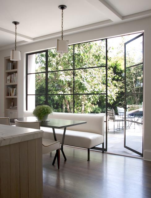 William Hefner Architecture Interiors & Landscape transitional-kitchen