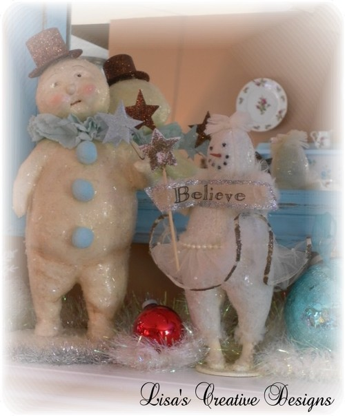 Vintage Inspired Snowman