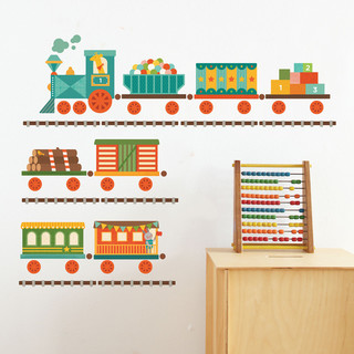 Train Wall Decal