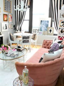 So Your Style Is  Eclectic Eclectic Living Room by Nichole Loiacono Design