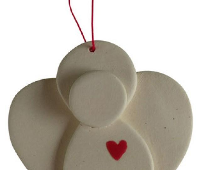 Ceramic Angel Ornament