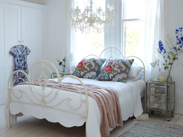 shabby chic bedroom | houzz