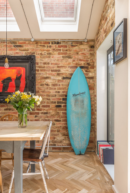 Mid-terrace extension and open plan redesign