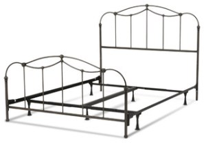 FBG Affinity Complete Bed, Blackened Taupe, Full, B11274