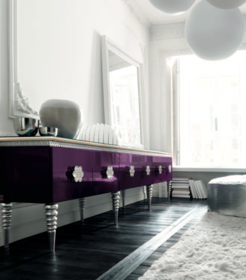 Purple Sideboard by Altamoda