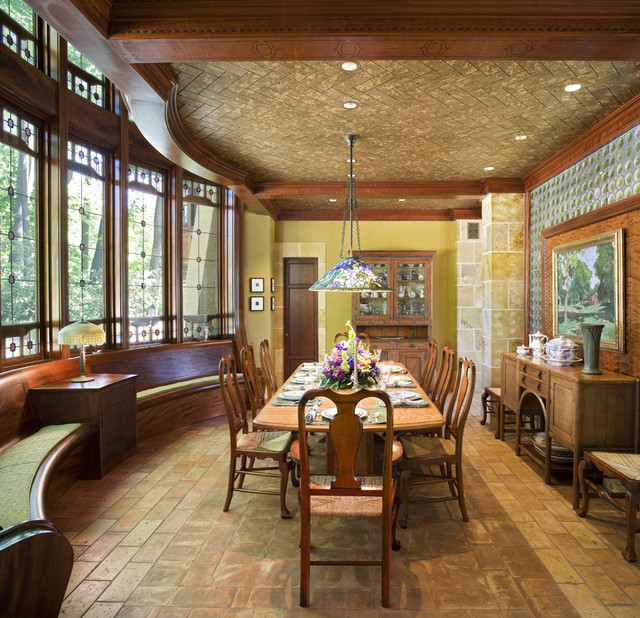 Arts Amp Crafts Residence Dining Room Traditional