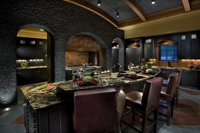Mountain Retreat Contemporary Kitchen Phoenix By