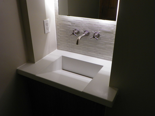 Integral Concrete Sinks