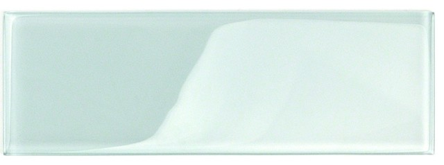 contempo seafoam 4x12 polished glass tile sample