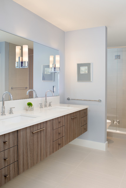 Stageneck Modern Beach Style Bathroom Portland Maine